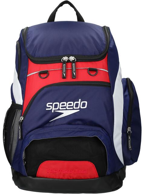 speedo Teamster - Mochila natación - 35l rojo/azul